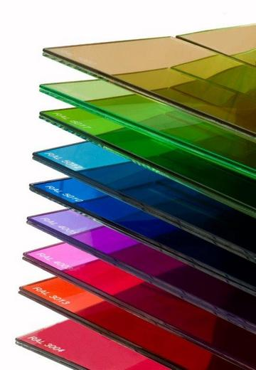 """Szkło """"kolorowe"""" (barwione) przezierne, - Stan-Szkło"""
